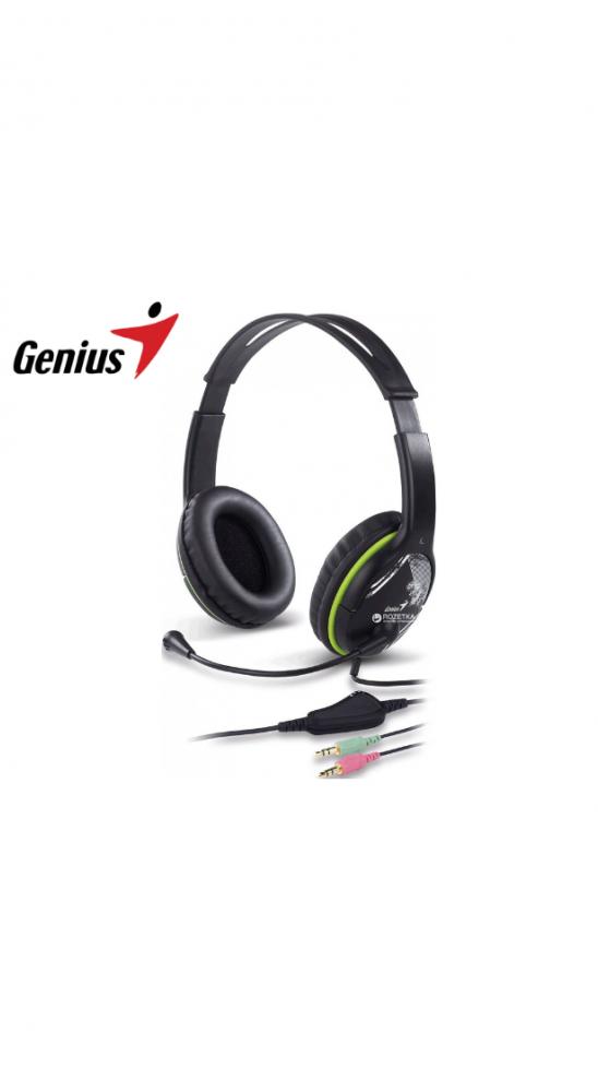 Auriculares con Micrófono Genius HS-400A 2 plug 3.5mm
