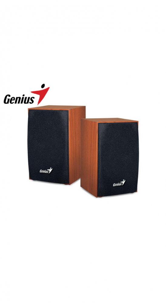 Parlante 2.0 USB Genius SP-HF160 Wood Madera