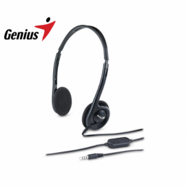 Auriculares con Micrófono Genius HS-M200C Single Jack 3.5mm