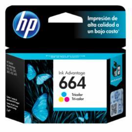 Cartuchos de Tinta HP 664 Color