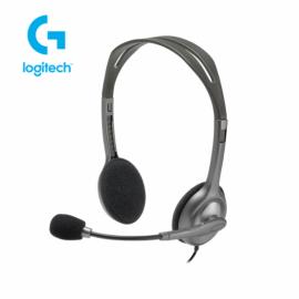 Auriculares con Micrófono Logitech H110 2 plug de 3.5mm
