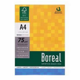 Resma Boreal A4 75Grs