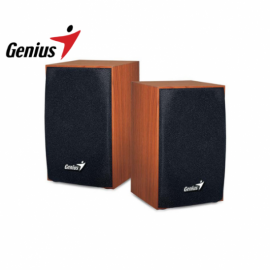 Parlante 2.0 USB Genius SP-HF160 Wood Madera